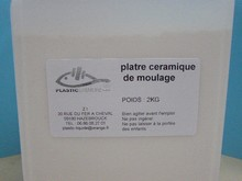 2KG DE PLATRE SYNTHETIQUE